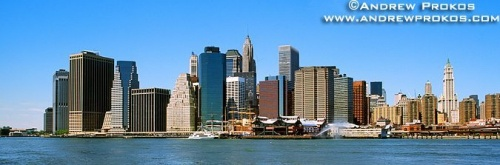 lower manhattan panoramic brooklyn