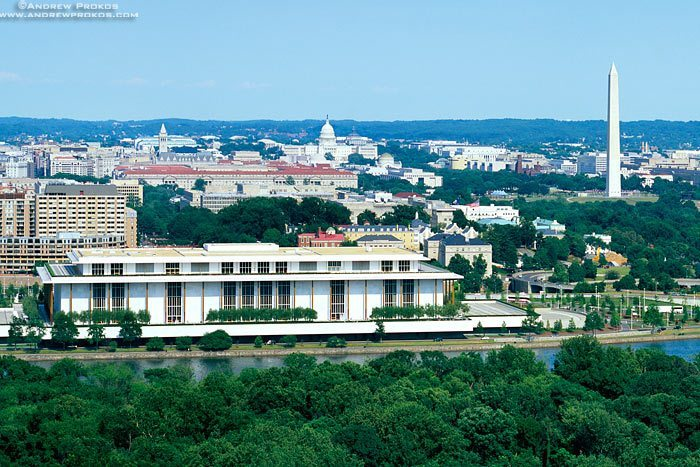 A view of Washington DC as seen from Rosslyn, Virginia.