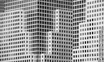 world financial center close bw