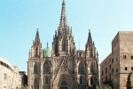 barcelona cathedral exterior
