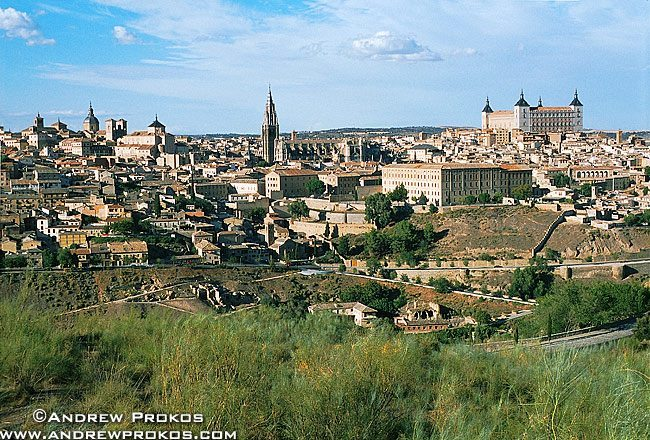 A view of the city of Toledo, Spain