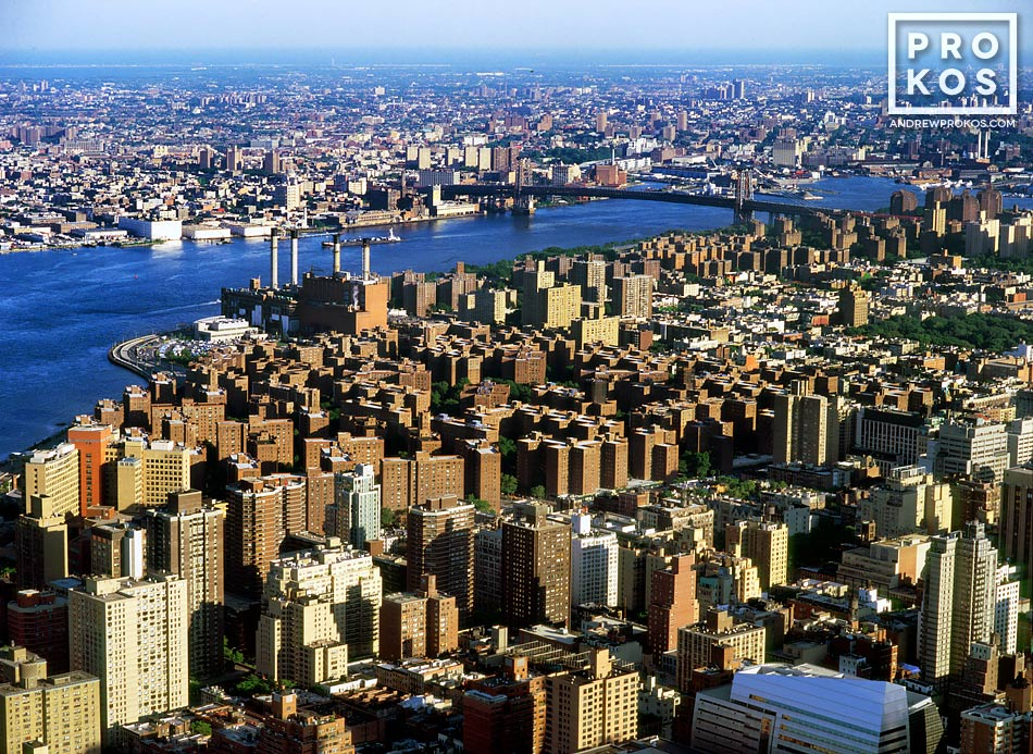 An aerial view of the Gramercy area in Manhattan, New York City