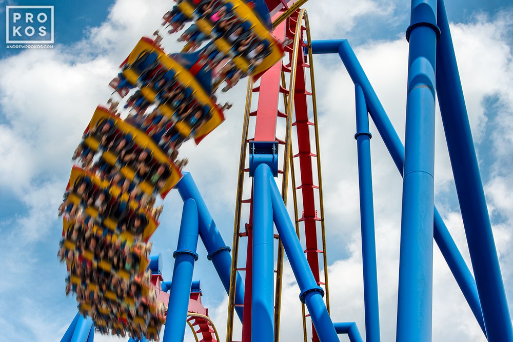 """From the series """"The Architecture of Amusement"""", which captures the architecture found in amusement parks."""