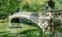 BOW BRIDGE CENTRAL PARK SUMMER  PX