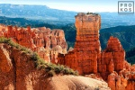 A view of Agua Canyon in Bryce Canyon National Park, Utah