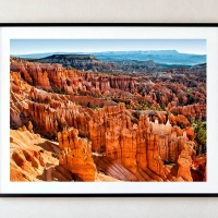 """""""Sunset Point Landscape, Bryce Canyon"""" - Framed Photograph by Andrew Prokos Photography"""