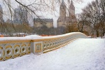 CENTRAL PARK BOW BRIDGE SNOW PX