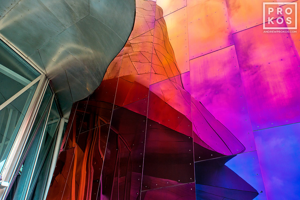 A photo from Andrew's award-winning series Gehry's Children.