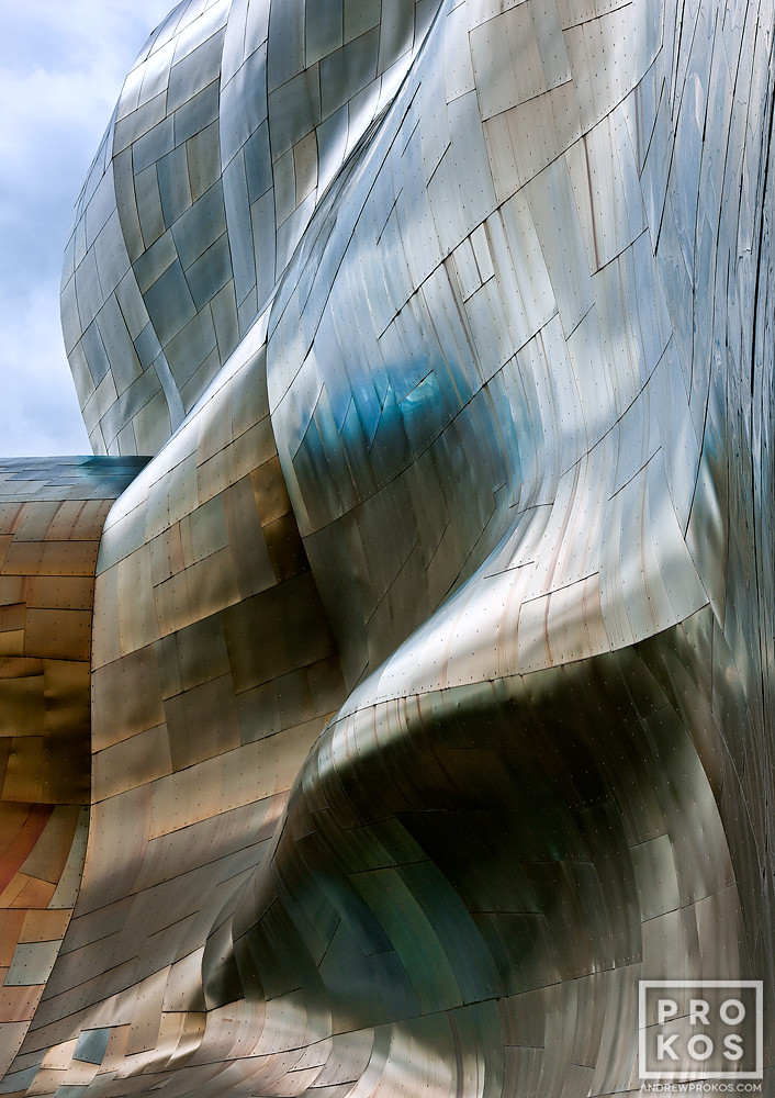 A fine art architectural photo from Andrew's award-winning series Gehry's Children.