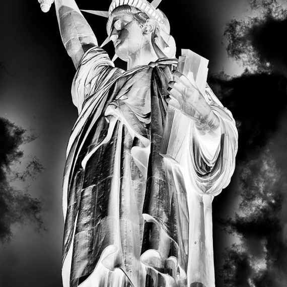 Inverted - Statue of Liberty