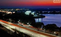 JEFFERSON MEMORIAL AERIAL DUSK PX