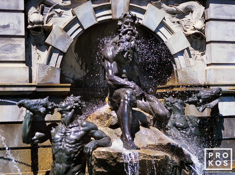 The Neptune Fountain at the Library of Congress, Washington D.C.