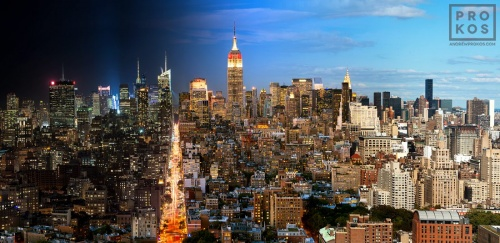 MANHATTAN DAY NIGHT PANO PX