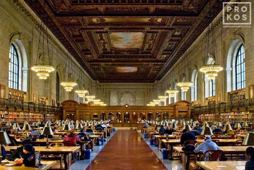 nyc public library interior