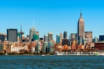 NYC SKYLINE FR JC PANORAMA PX
