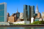 NYC UNITED NATIONS SKYLINE PANORAMA DAY PX