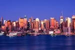 NYC WEEHAWKEN PANORAMA DUSK PX