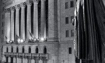 NYSE AT NIGHT VT BW PX