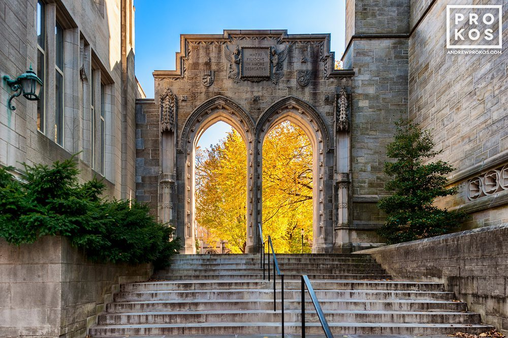 Rothschild Arch on the campus of Princeton University, New Jersey