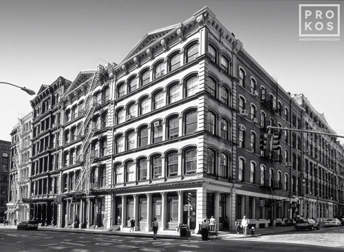 SOHO CORNER BROOME WOOSTER BW PX