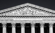 SUPREME COURT PEDIMENT BW PX