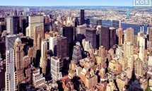 VIEW FROM EMPIRE STATE BUILDING NYC WIDE COLOR PX