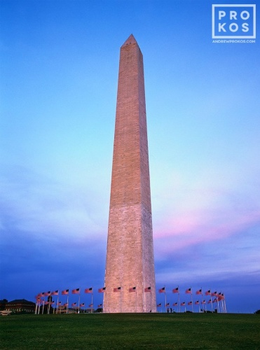 WASHINGTON MONUMENT DUSK PX