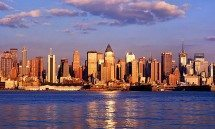 WEEHAWKEN SKYLINE SUNSET PX