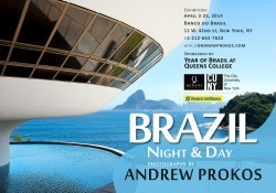 brazil night and day exhibition announcement