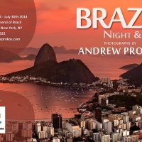 """Brazil - Nght & Day"" Exhibition by photographer Andrew Prokos at Brazilian Consulate, New York City"