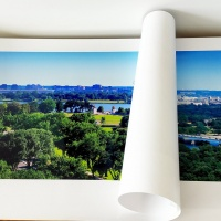 Large scale panoramic fine art prints of Washington DC for Hyatt Hotels, by Photographer Andrew Prokos