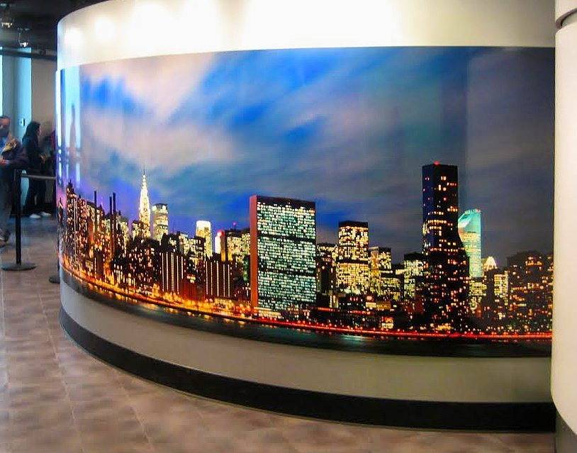 Empire State Building Wall Mural