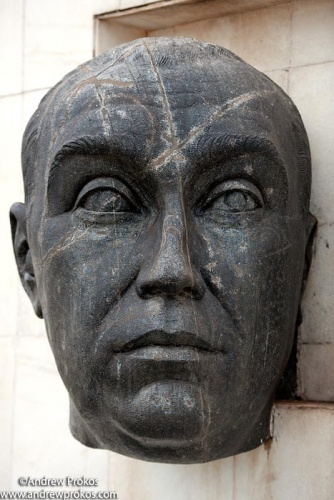 kubitschek monumental head brasilia