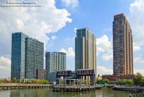 hunters point lic waterfront residential towers