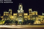 madrid palacio comunicaciones night