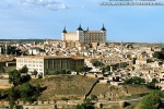 A view of the Alcazar of Toledo, Spain