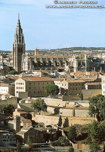 view of toledo cathedral
