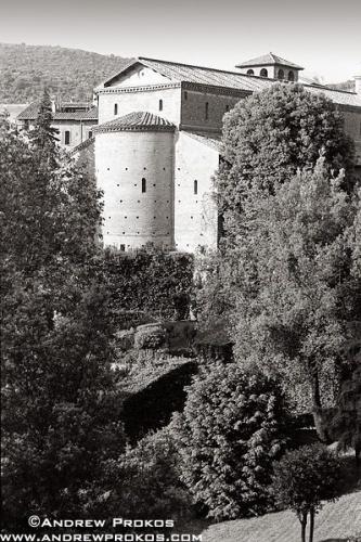 benedictine monastery villa deste