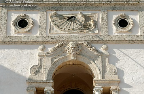 Facade of the Vizcaya Museum in Miami, Florida
