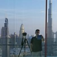 Photographer Andrew Prokos on Burj Khalifa photo shoot in Dubai, UAE