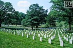 A view of Arlington National Cemetery, Washington DC