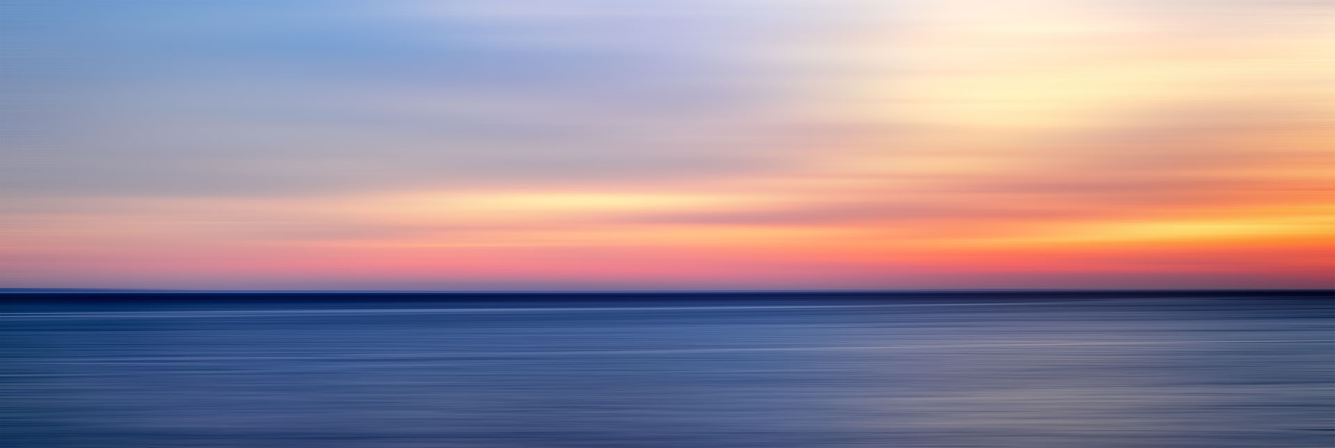 Panoramic landscape and seascape photography. Framed large format prints available at Andrew Prokos Gallery.