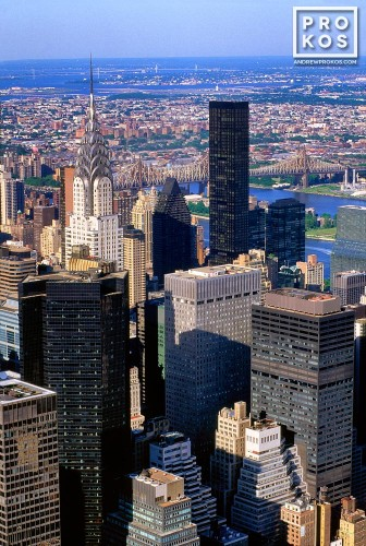 A view of Midtown Manhattan from the Empire State Building, New York City