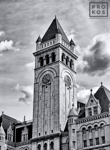 The tower of the Old Post Office building, Washington DC