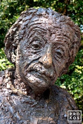 Statue of Albert Einstein at the National Academy of Sciences, Washington DC