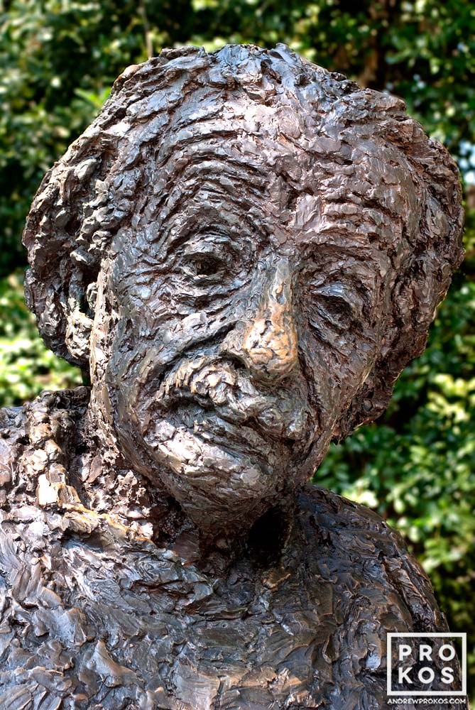 Statue of Albert Einstein at the National Academy of Sciences, Washington DC