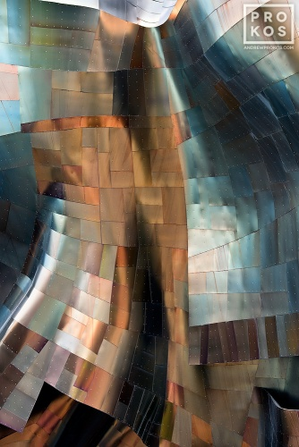 A fine art architectural photo from Andrew's award-winning series Gehry's Children. Framed fine art prints available in various styles.