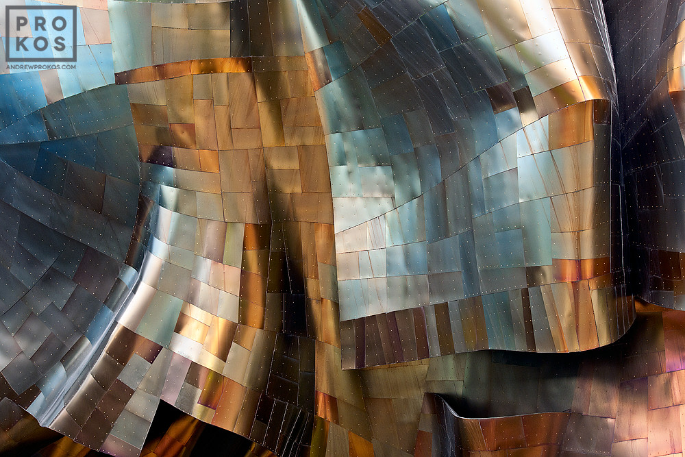 An architectural fine art photo from Andrew's award-winning series Gehry's Children.