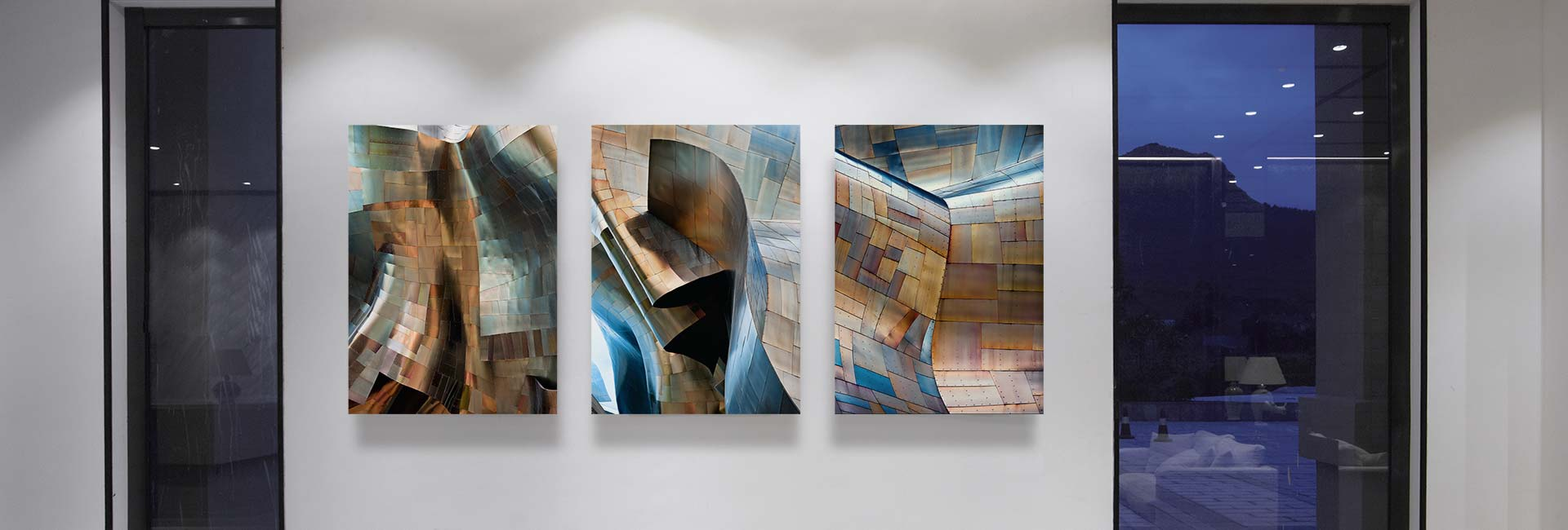 Gehry's Children architectural photo series – acrylic float mounted gallery prints