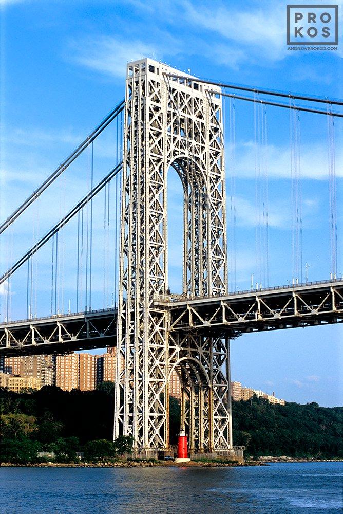 George Washington Bridge A Bridge On The Hudson River